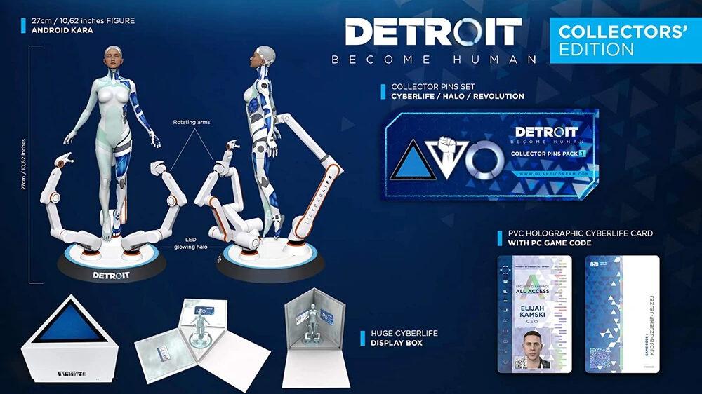 Detroit: Become Human: Collectors' Edition für den PC mit Kara-Figur