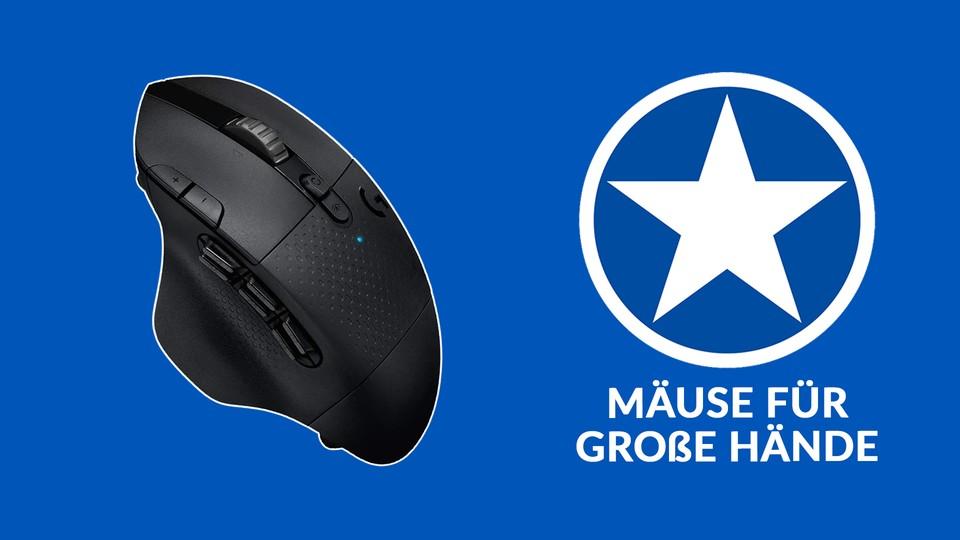 Die besten Gaming-Mäuse für große Hände – Kaufberatung 2021