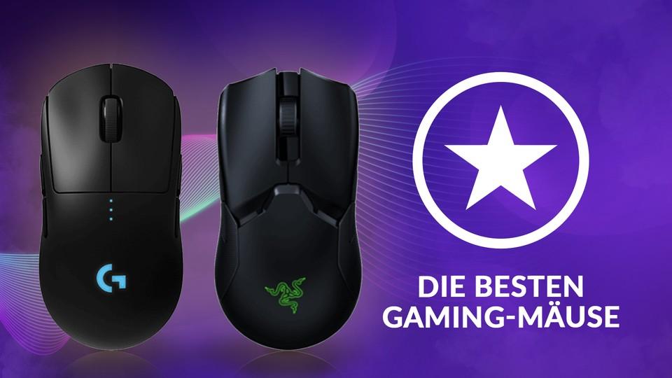 Die besten Gaming-Mäuse für Spielende – kabelgebunden und wireless