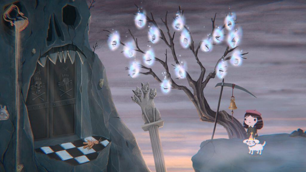 Wenn ihr alle 16 Glitzerstaub-Gelegenheiten wahrgenommen habt, leuchten am Ende die Stellen im Baum.